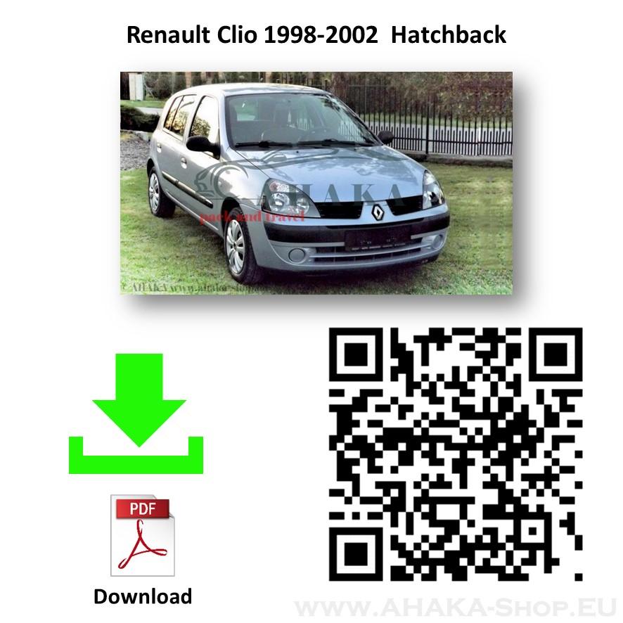 Anhängerkupplung für Renault Clio II Schrägheck Bj. 1998 - 2005 - günstig online kaufen