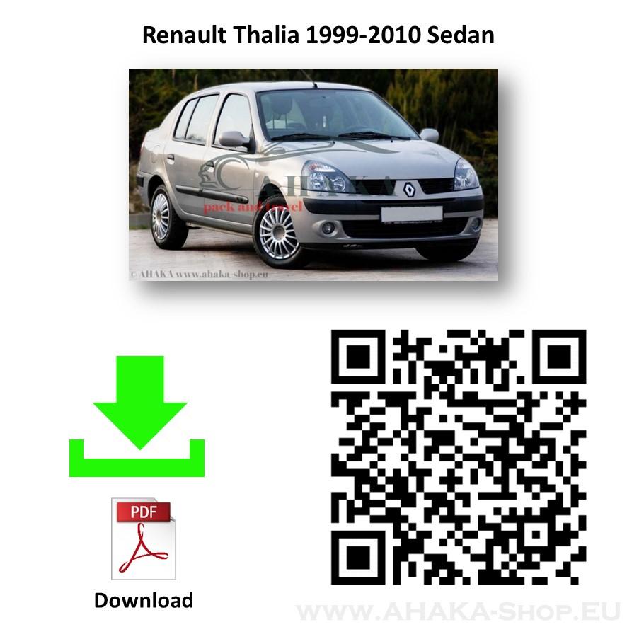 Anhängerkupplung für Renault Thalia Stufenheck Bj. ab 1998 - günstig online kaufen