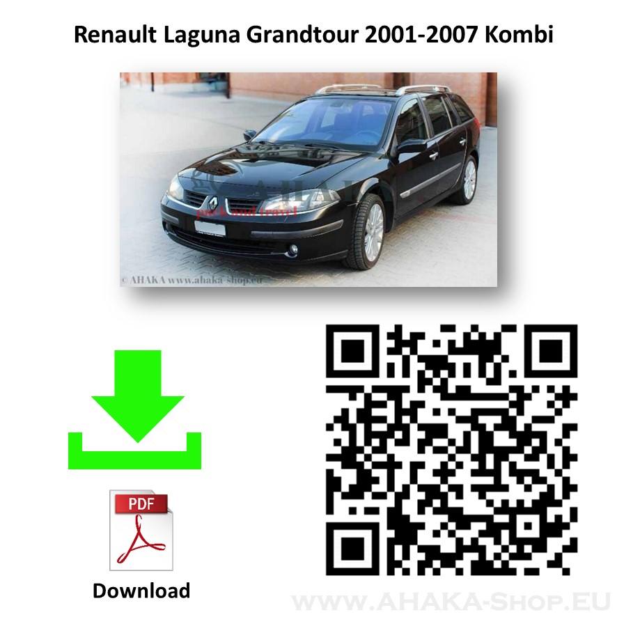 Anhängerkupplung für Renault Laguna II Grandtour Kombi Bj. 2001 - 2007 - günstig online kaufen