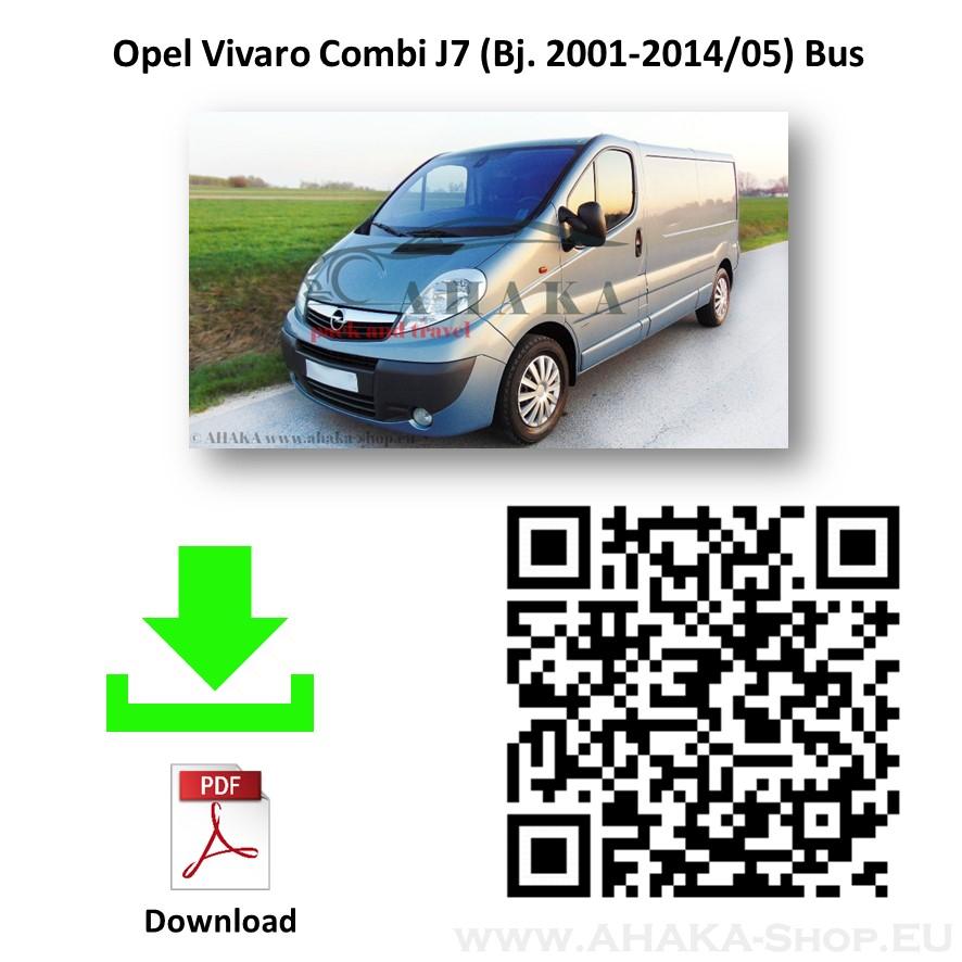 Anhängerkupplung für Opel Vivaro Bus, Kasten Bj. 2001 - 2014 - günstig online kaufen