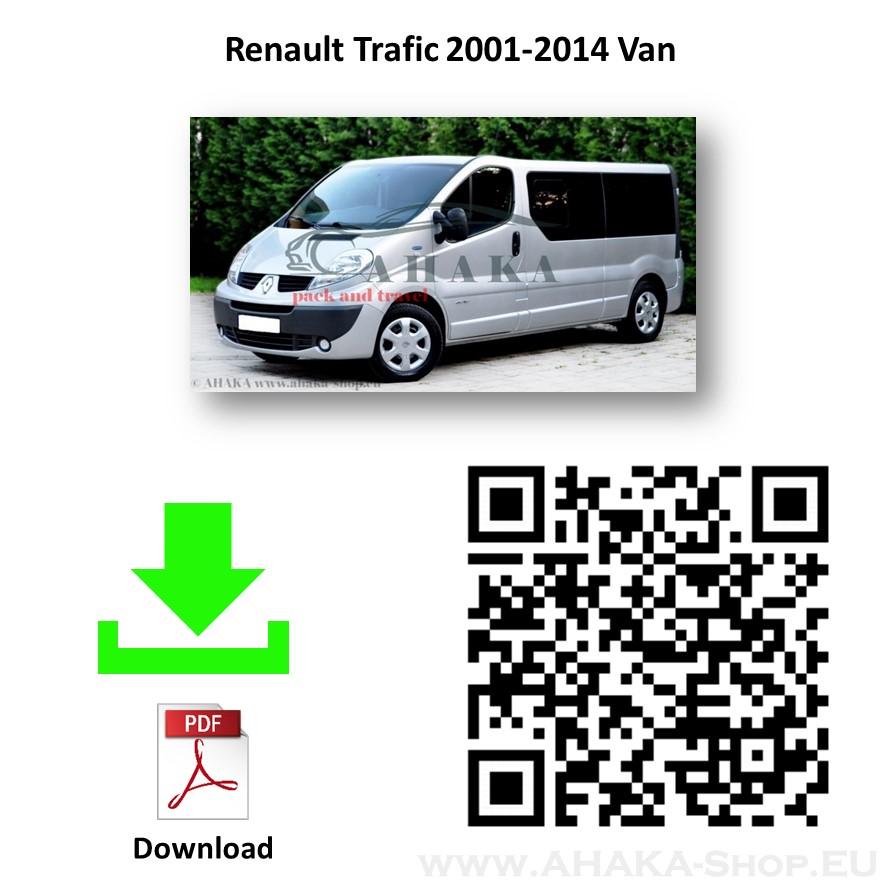 Anhängerkupplung für RENAULT TRAFIC Bus, Kasten Bj. ab 2001 - 2014 - günstig online kaufen