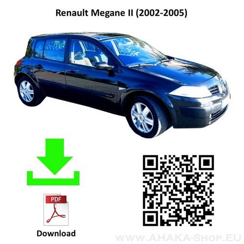 Anhängerkupplung für Renault Megane II Schrägheck Bj. 2002 - 2008 - günstig online kaufen