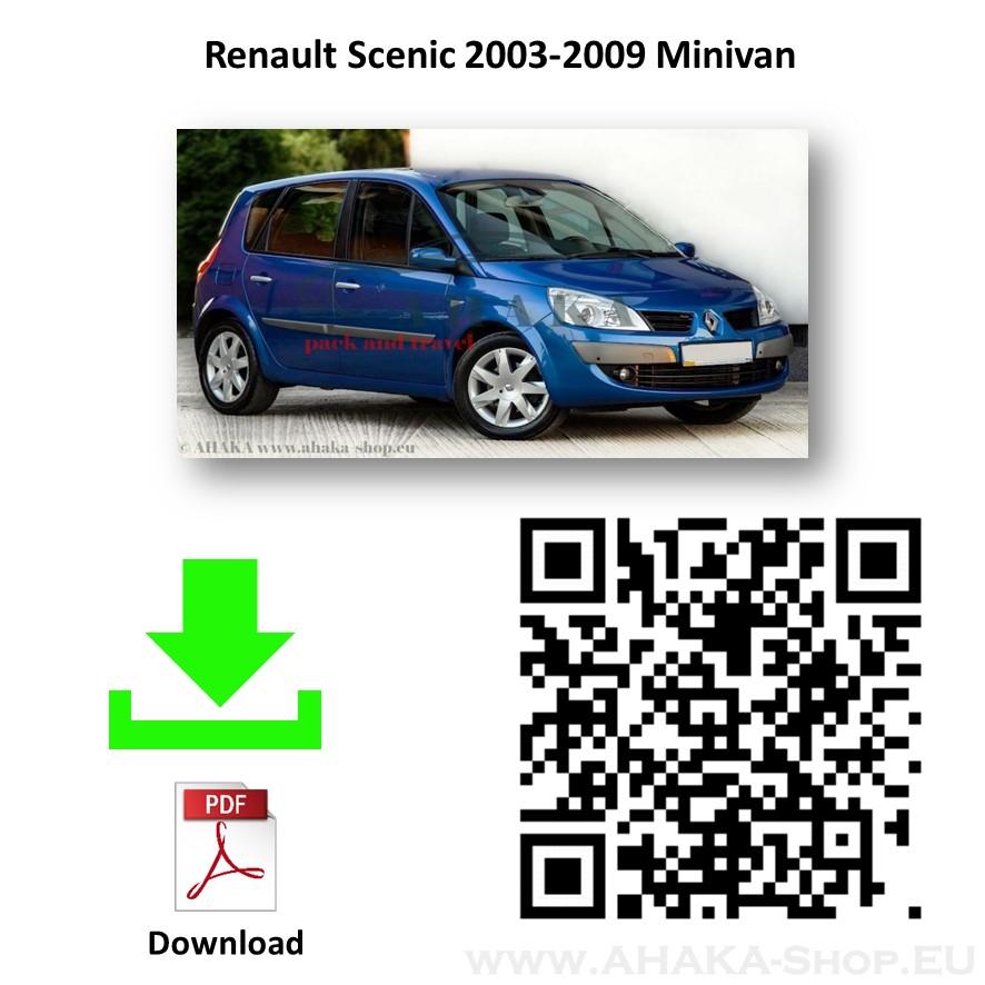 Anhängerkupplung für Renault Scenic II Bj. 2003 - 2009 - günstig online kaufen