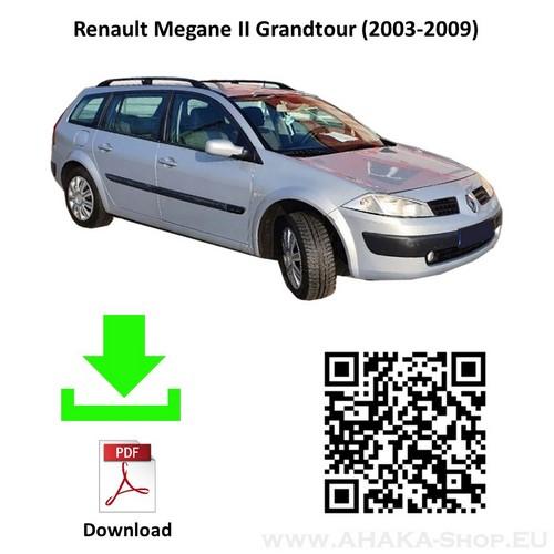 Anhängerkupplung für Renault Megane II Grandtour Kombi Bj. 2003 - 2009 - günstig online kaufen