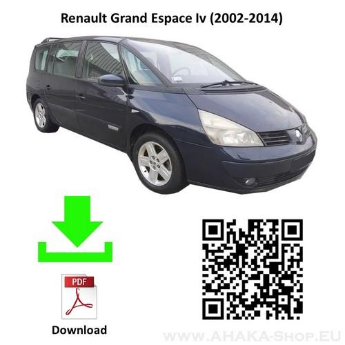 Anhängerkupplung für Renault Grand Espace Bj. 2002 - 2014 - günstig online kaufen