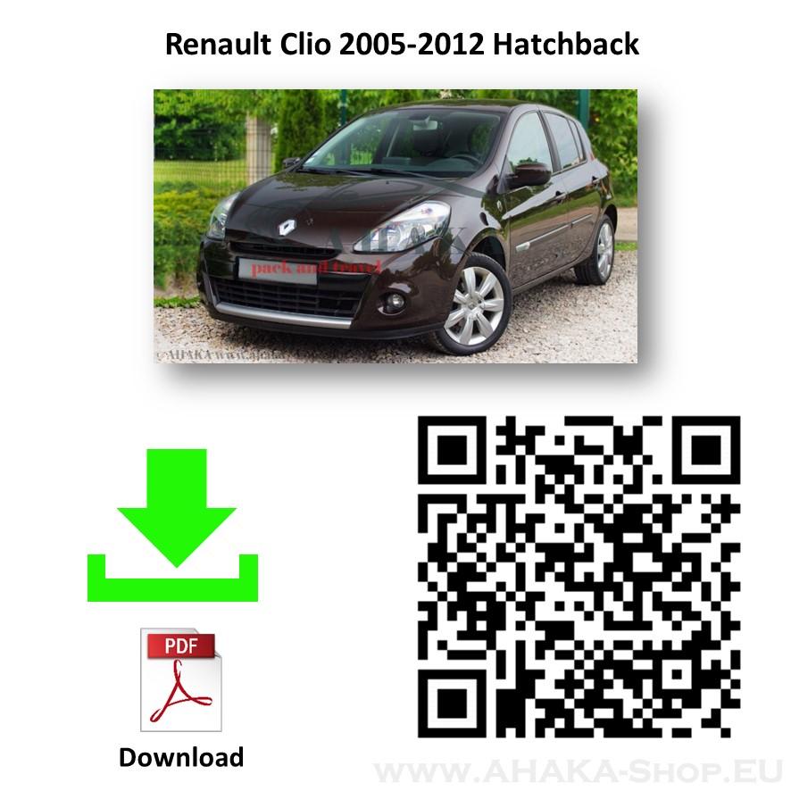 Anhängerkupplung für Renault Clio III Schrägheck Bj. 2005 - 2012 - günstig online kaufen