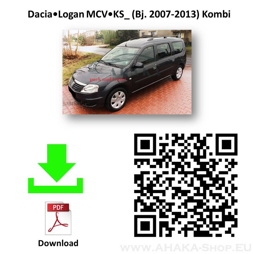 Anhängerkupplung für Dacia Logan MCV, Express Kombi, Pick-Up Bj. 2007 - 2013 - günstig online kaufen