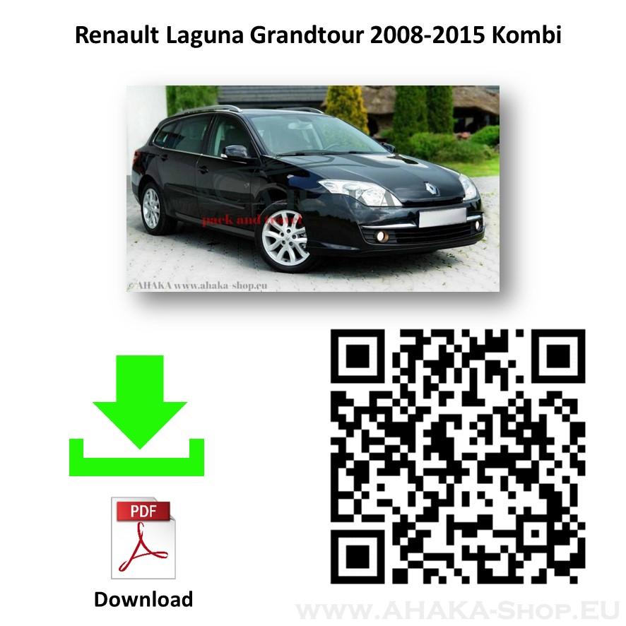 Anhängerkupplung für Renault Laguna III Grandtour Kombi Bj. 2007 - 2013 - günstig online kaufen