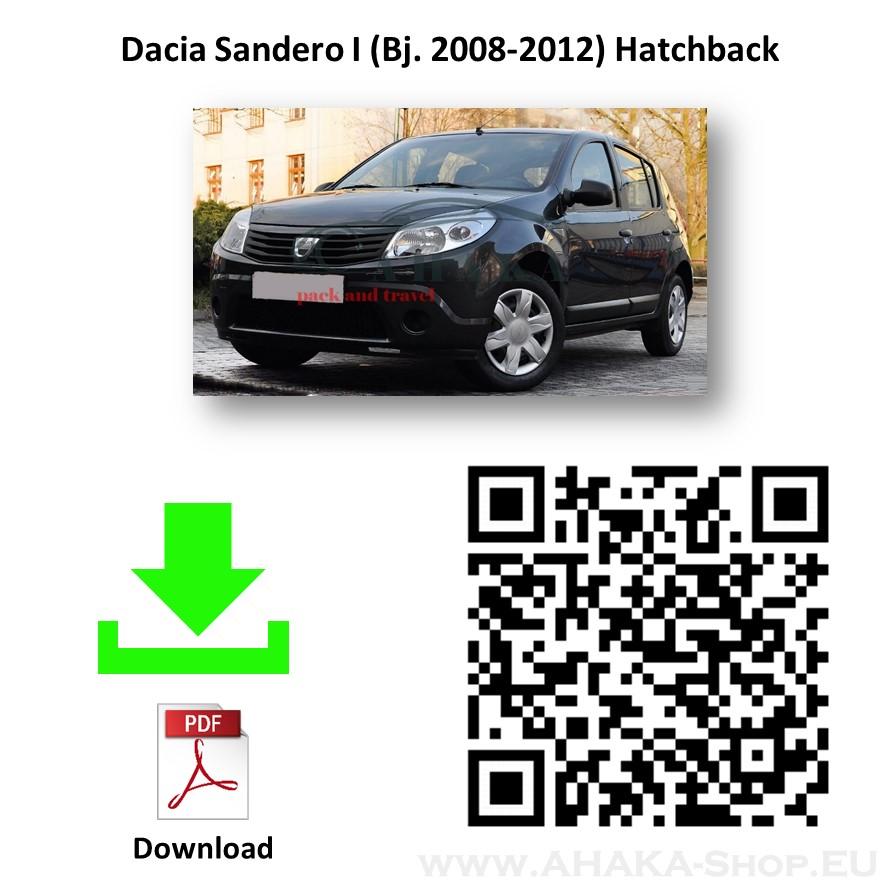 Anhängerkupplung für Dacia Sandero Schrägheck Bj. 2008 - 2012 - günstig online kaufen