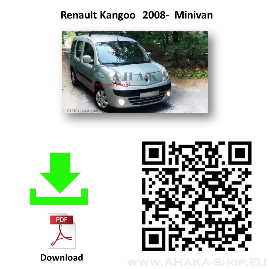 Anhängerkupplung für Renault Kangoo II Bj. ab 2008 - günstig online kaufen