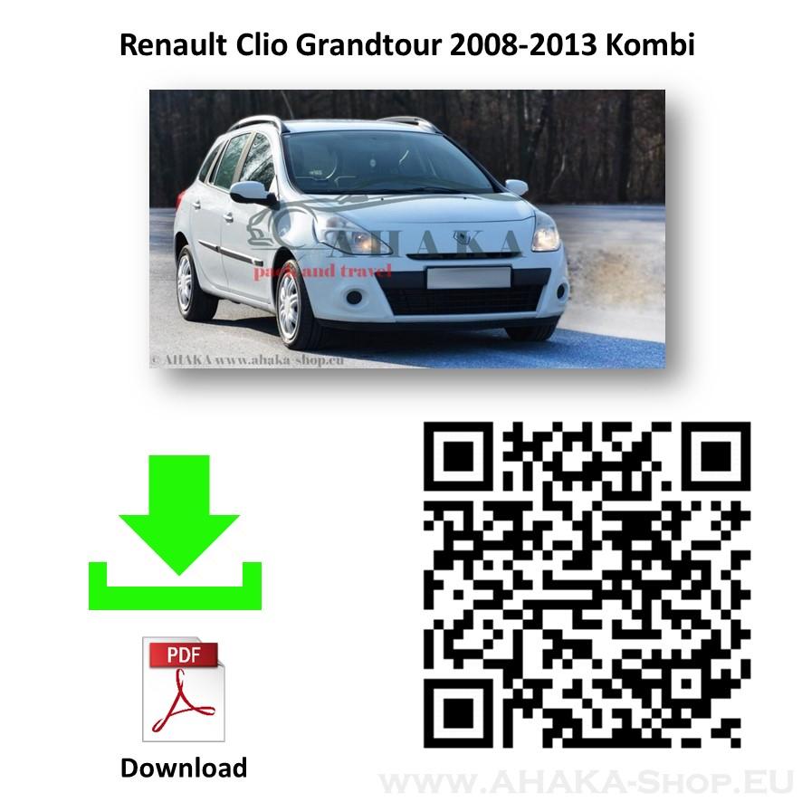 Anhängerkupplung für Renault Clio III Grandtour Kombi Bj. 2008 - 2013 - günstig online kaufen