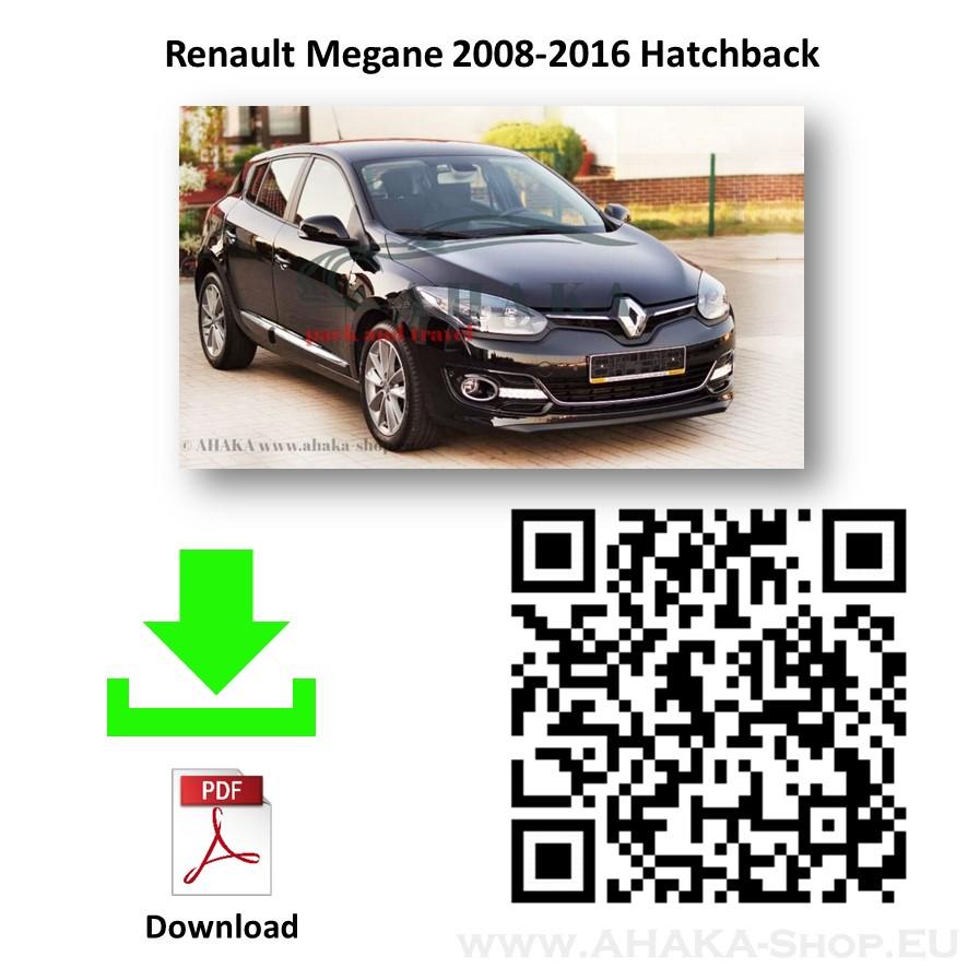 Anhängerkupplung für Renault Megane III Schrägheck Bj. 2008 - 2016 - günstig online kaufen