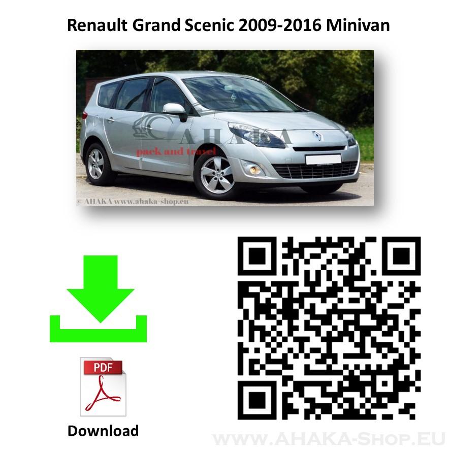 Anhängerkupplung für Renault Grand Scenic III Bj. 2009 - 2016 - günstig online kaufen