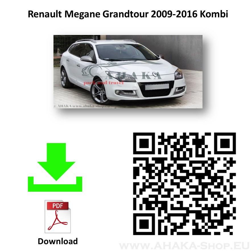 Anhängerkupplung für Renault Megane III Grandtour Kombi Bj. 2008 - 2016 - günstig online kaufen