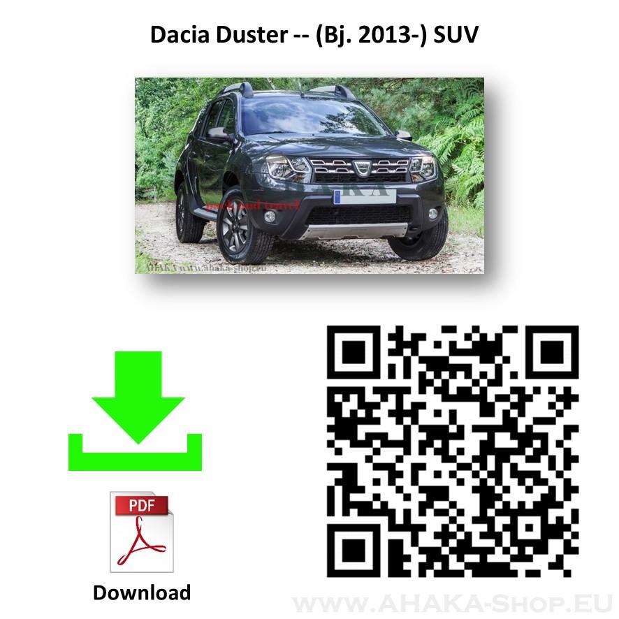 Anhängerkupplung für Dacia Duster II Bj. 2013 - 2017 - günstig online kaufen