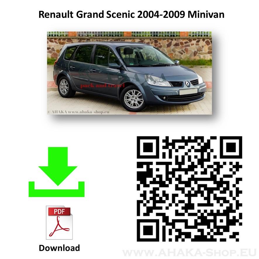 Anhängerkupplung für Renault Grand Scenic II Bj. 2004 - 2009 - günstig online kaufen
