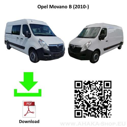 Anhängerkupplung für Opel Movano Bus, Kasten Bj. ab 2010 - günstig online kaufen