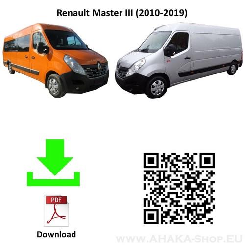 Anhängerkupplung für Renault Master Bus, Kasten Bj. ab 2010 - günstig online kaufen