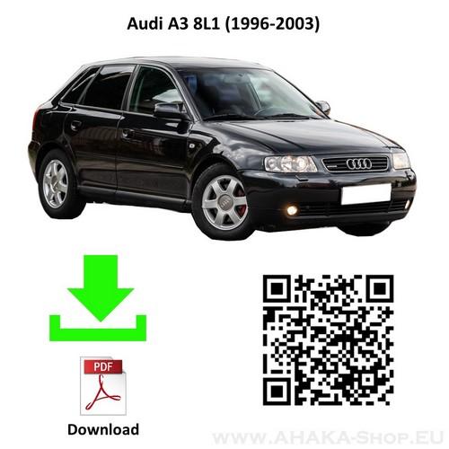 Anhängerkupplung für Audi A3 8L Schrägheck Bj. 1996 - 2003 - günstig online kaufen