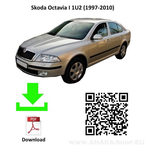Anhängerkupplung für Skoda Octavia I Limousine, Schrägheck, Kombi Bj. 1997 - 2010 - günstig online kaufen