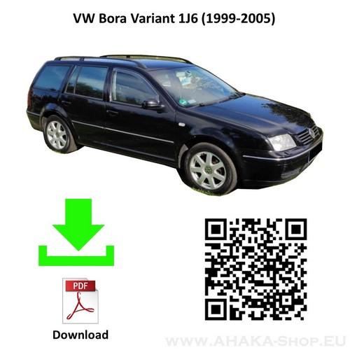 Anhängerkupplung für VW Volkswagen Bora Variant Kombi Bj. 1999 - 2005 - günstig online kaufen
