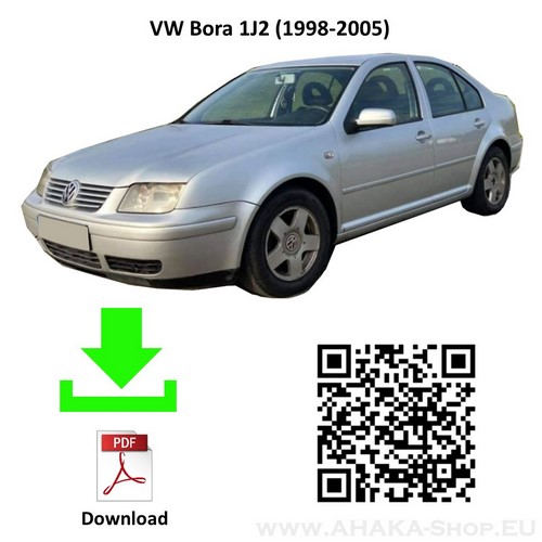 Anhängerkupplung für VW Volkswagen Bora Stufenheck Bj. 1998 - 2005 - günstig online kaufen
