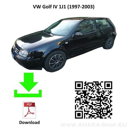 Anhängerkupplung für VW Volkswagen Golf IV Schrägheck Bj. 1997 - 2003 - günstig online kaufen