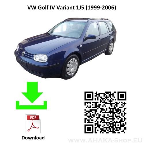 Anhängerkupplung für VW Volkswagen Golf IV Variant Kombi Bj. 1999 - 2006 - günstig online kaufen