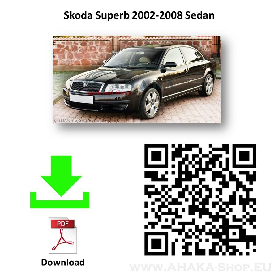 Anhängerkupplung für Skoda Superb I Stufenheck Bj. 2002 - 2008 - günstig online kaufen