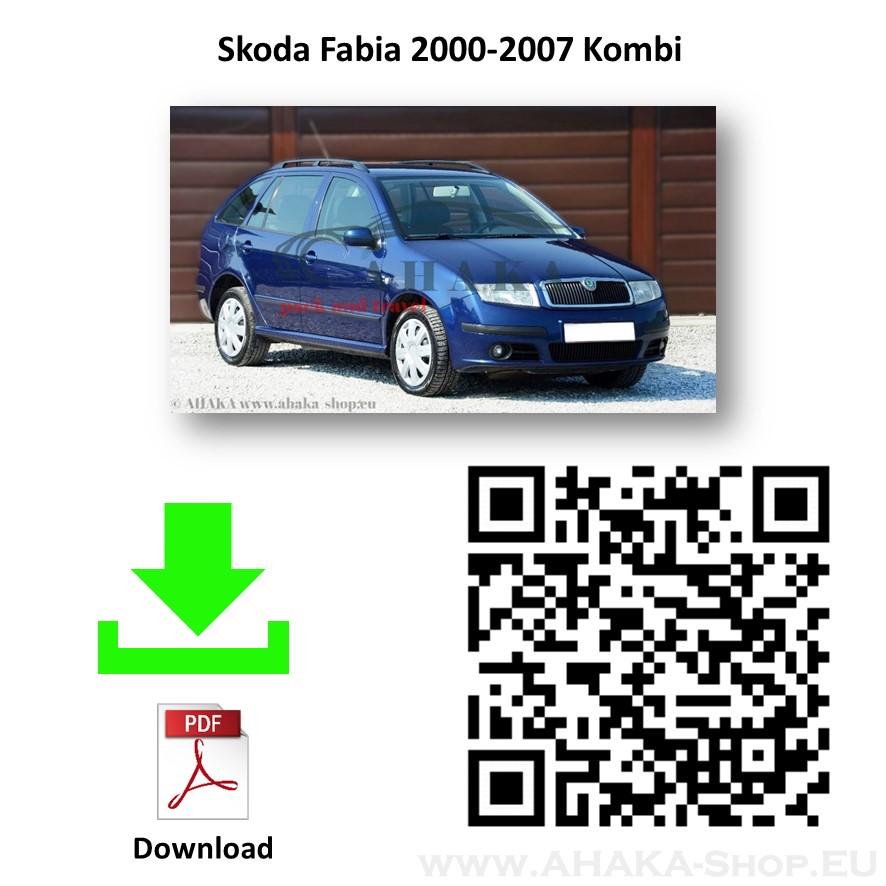 Anhängerkupplung für Skoda Fabia I / II Stufenheck, Kombi Bj. 2001 - 2014 - günstig online kaufen