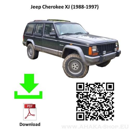 Anhängerkupplung für Jeep Cherokee XJ Bj. 1988 - 1997 - günstig online kaufen