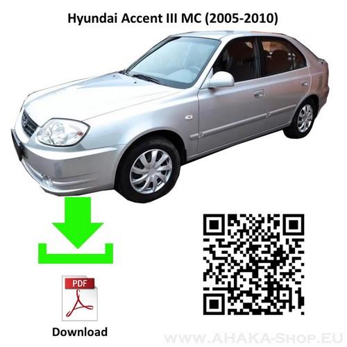 Anhängerkupplung für Hyundai Accent Schrägheck Bj. 2005 - 2010 - günstig online kaufen