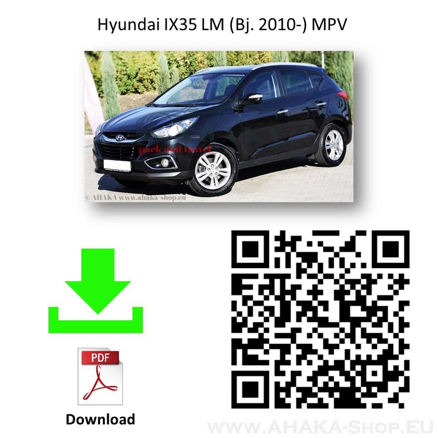 Anhängerkupplung für Hyundai ix35 Bj. 2010 - 2013 - günstig online kaufen