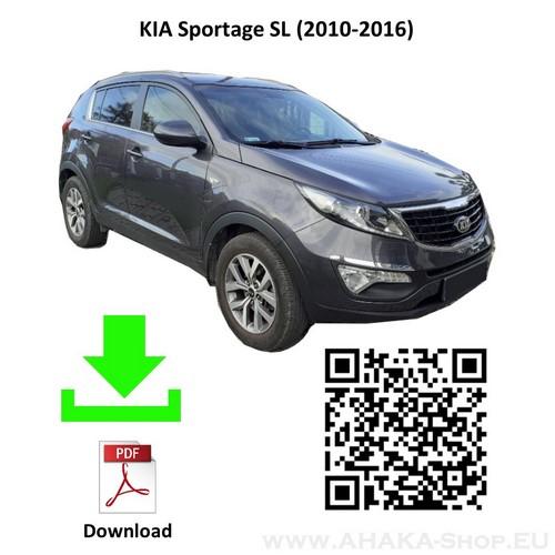 Anhängerkupplung für Kia Sportage SL Bj. 2010 - 2016 - günstig online kaufen