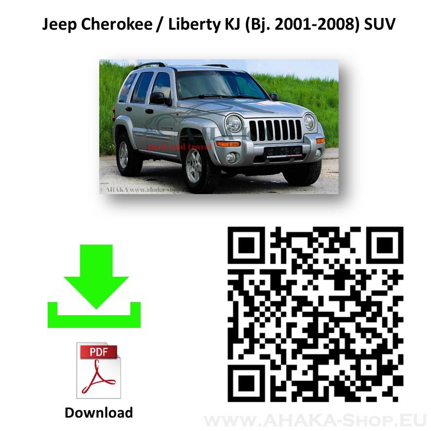Anhängerkupplung für Jeep Cherokee KJ Bj. 2001 - 2008 - günstig online kaufen