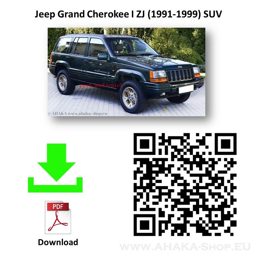 Anhängerkupplung für JEEP GRAND CHEROKEE ZJ ZG Bj. ab 1993 - 1999 - günstig online kaufen