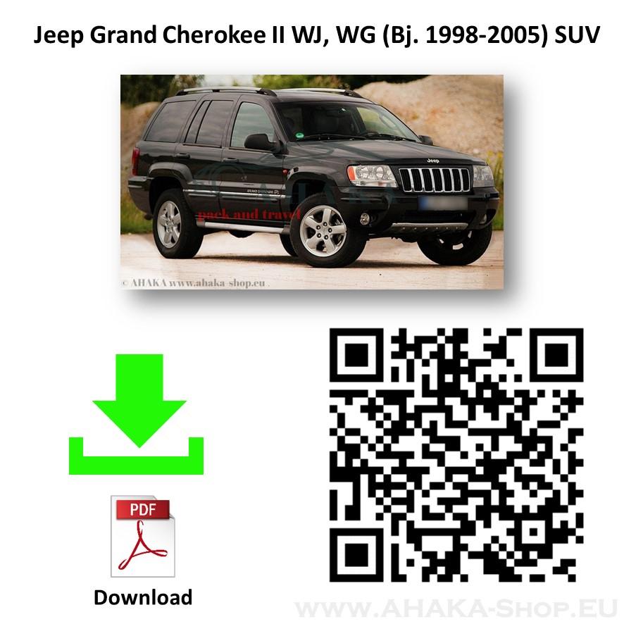 Anhängerkupplung für Jeep Grand Cherokee WJ WG Bj. 1999 - 2005 - günstig online kaufen