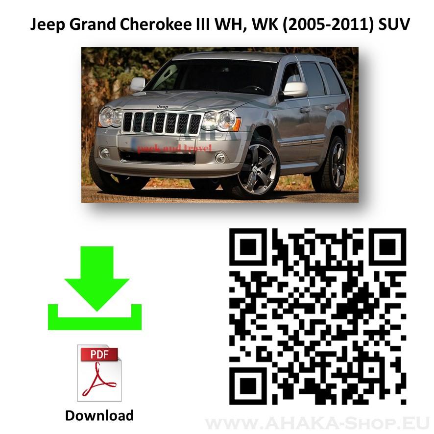 Anhängerkupplung für Jeep Grand Cherokee WK WH Bj. 2005 - 2011 - günstig online kaufen
