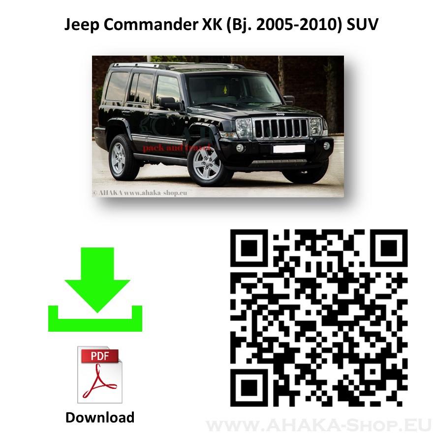 Anhängerkupplung für JEEP COMMANDER XH Bj. ab 2006 - 2011 - günstig online kaufen