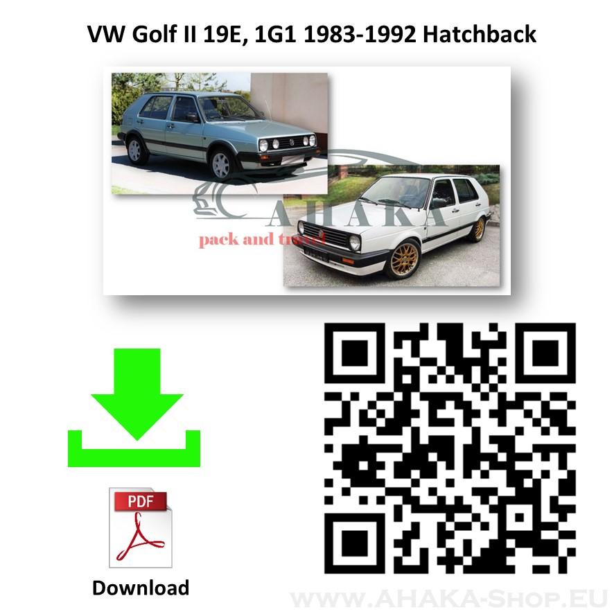 Anhängerkupplung für VW VOLKSWAGEN GOLF II Schrägheck Bj. ab 1983 - 1991 - günstig online kaufen