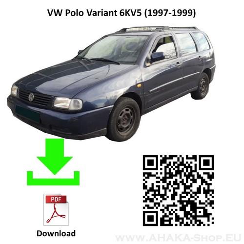 Anhängerkupplung für VW Volkswagen Polo Stufenheck, Variant, Kombi Bj. 1996 - 2000 - günstig online kaufen