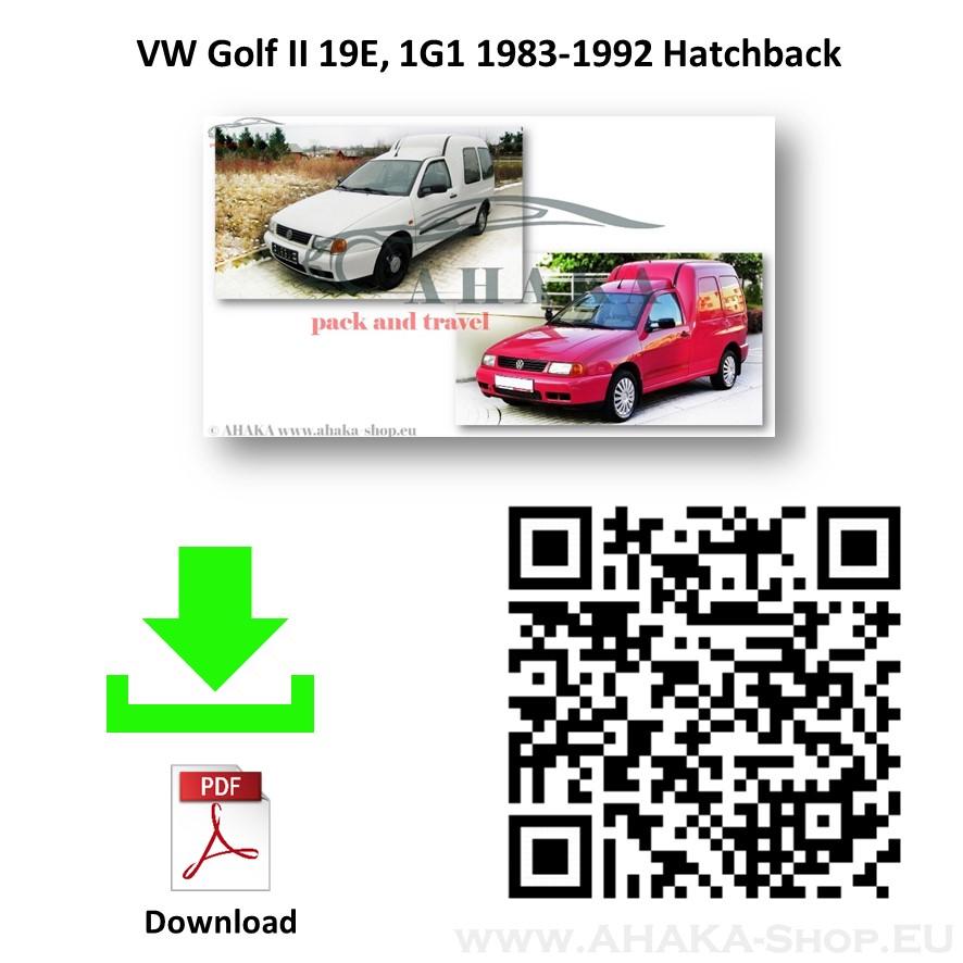 Anhängerkupplung für VW VOLKSWAGEN CADDY Bj. ab 1995 - 2004 - günstig online kaufen