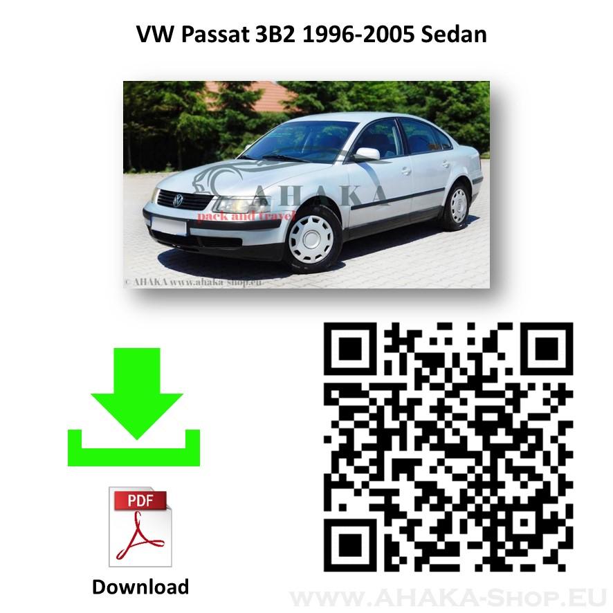 Anhängerkupplung für VW Volkswagen Passat B5 Stufenheck, Variant, Kombi Bj. 2000 - 2005 - günstig online kaufen