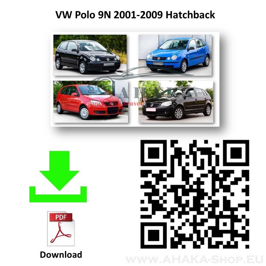 Anhängerkupplung für VW Volkswagen Polo Schrägheck Bj. 2001 - 2009 - günstig online kaufen