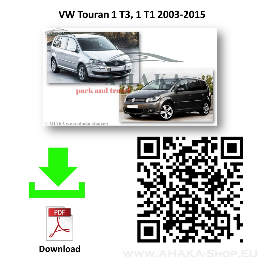 Anhängerkupplung für VW Volkswagen Touran Bj. 2003 - 2015 - günstig online kaufen
