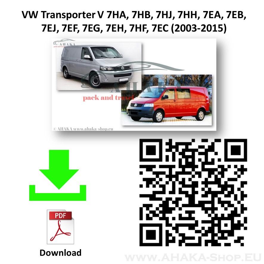 Anhängerkupplung für VW Volkswagen Transporter T5 Multivan, Caravelle Bj. 2003 - 2015 - günstig online kaufen