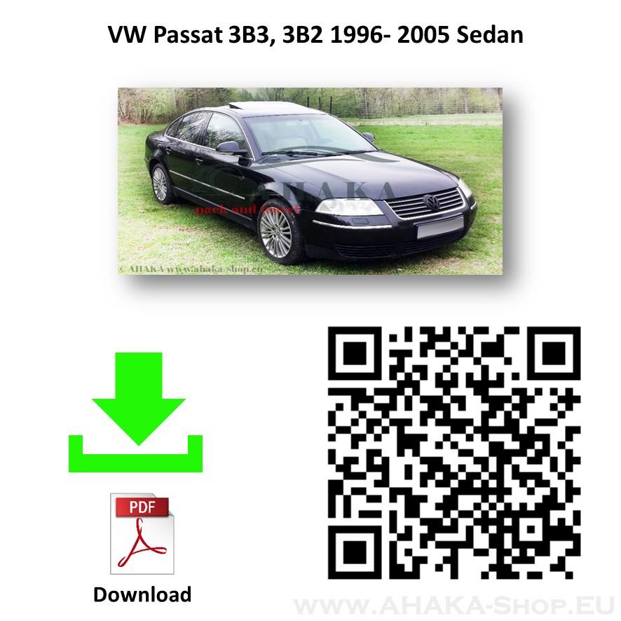 Anhängerkupplung für VW Volkswagen Passat B5 4 Motion Stufenheck, Variant, Kombi Bj. 1996 - 2000 - günstig online kaufen