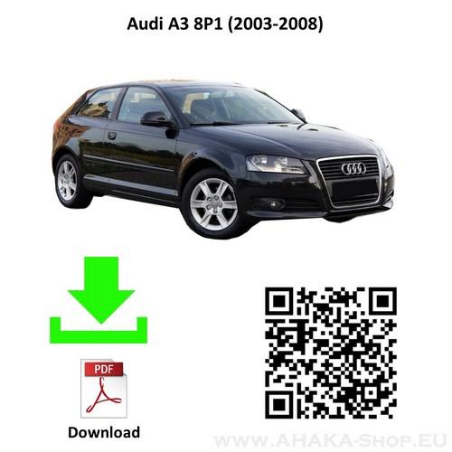 Anhängerkupplung für Audi A3 8P Schrägheck Bj. 2003 - 2012 - günstig online kaufen