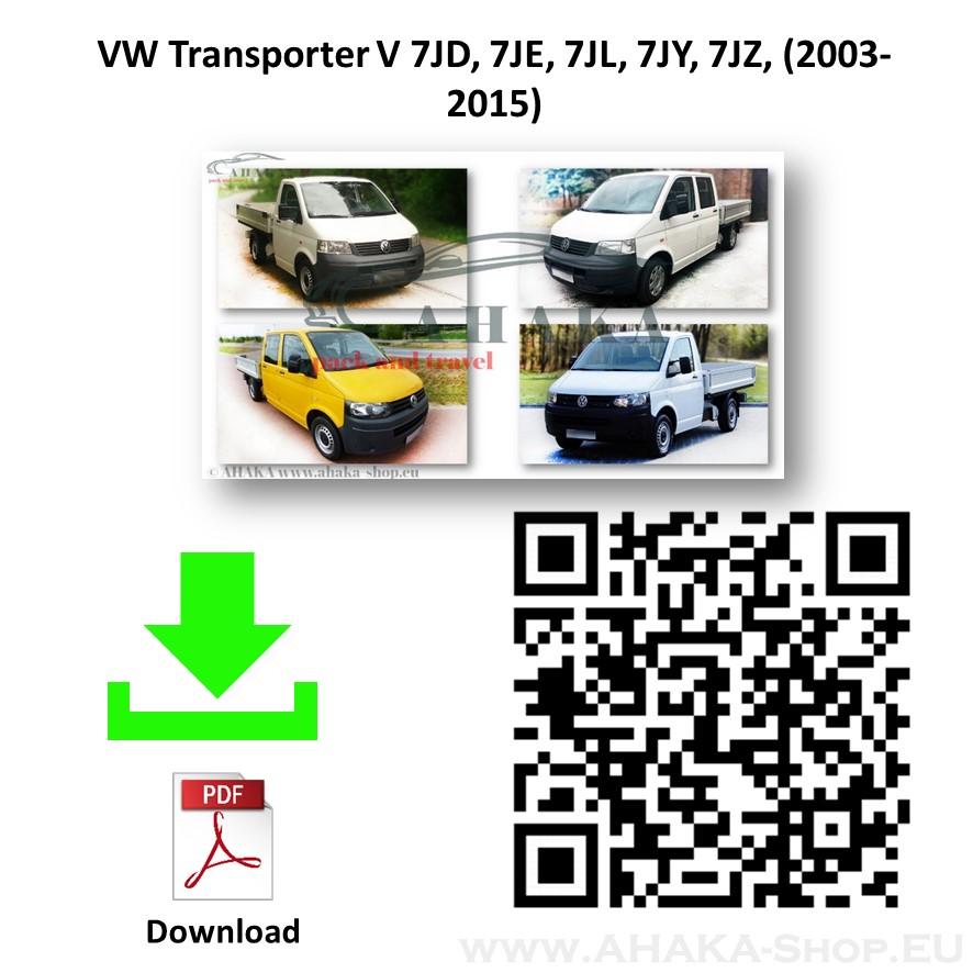 Anhängerkupplung für VW Volkswagen Transporter T5 Pritsche Bj. 2003 - 2015 - günstig online kaufen