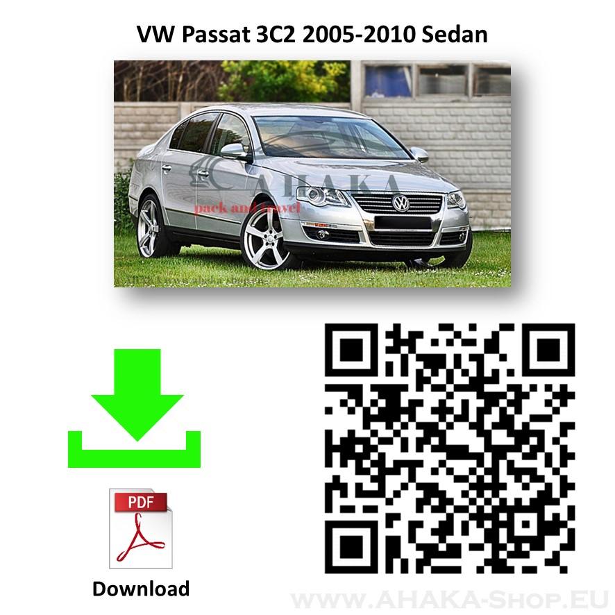 Anhängerkupplung für VW Volkswagen Passat B6 Stufenheck, Variant, Kombi Bj. 2005 - 2010 - günstig online kaufen